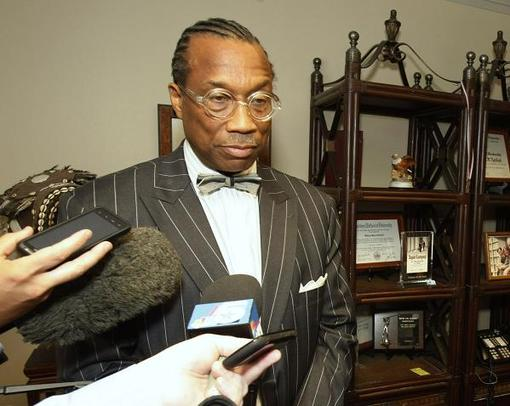 commissioner john wiley price. FBI agents searching Dallas County Commissioner John Wiley Price#39;s house