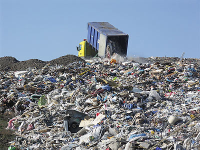 The landfill where US soldiers' dead bodies were dumped